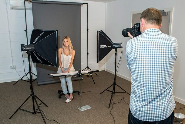 how to capture high detail with even light. it involves softboxes and reflectors