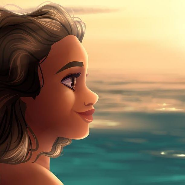 I was taking a break from commissions and i came across the Moana videos and i was captivated with the sea when Moana was talking to her grandma in the beach, so i painted one and added Moana. I can't wait for this movie to come out . #instaexploringart #disneyprincess #archibaldart #dailyart #dailyarts #artistic_realm_ #hourlyartwork #artistic_unity_ #artworkspage #artdiscover #instaexplorer #artgm03 #dailysharer #artscloud #bestartsharer #instagramartist #instar...