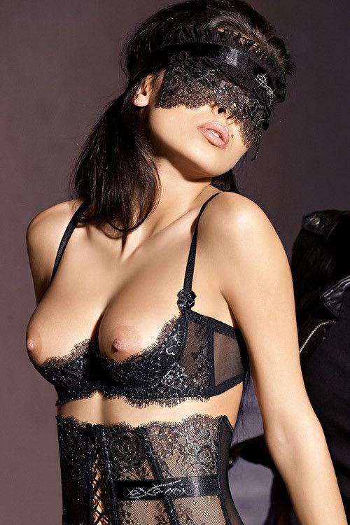 Biustonosz erotyczny Axami V-3001 Carmen / Erotic bra Axami V-3001 Carmen #biustonosz #erotyczny #czarny #kobieta #seksowna #bielizna #bra #erotic #sexy #lingerie