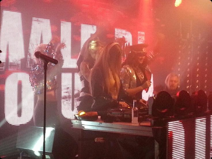 Ambassadeur Nightclub in Stockholm, Sweden.