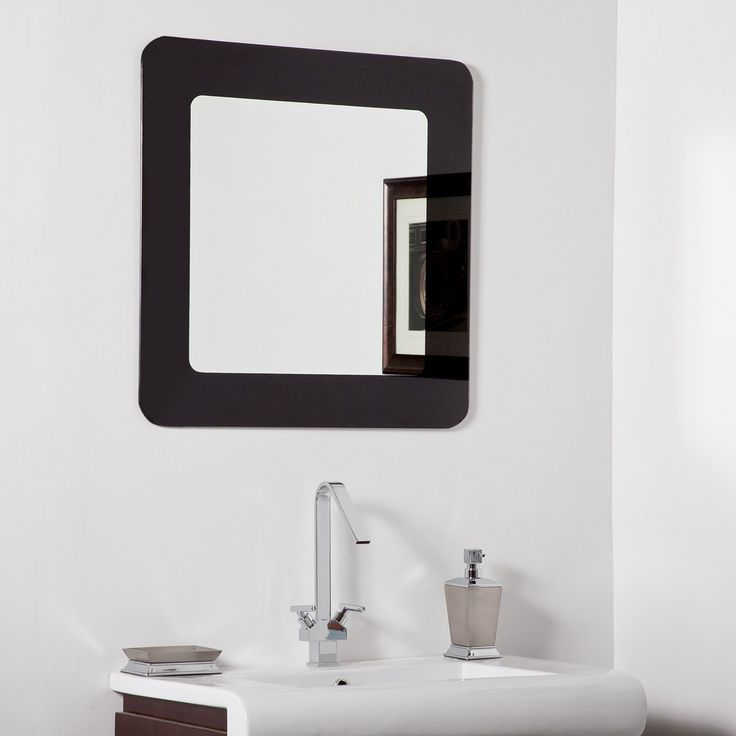 Modern Mirrors For Bathrooms: Best 20+ Modern Bathroom Mirrors Ideas On Pinterest