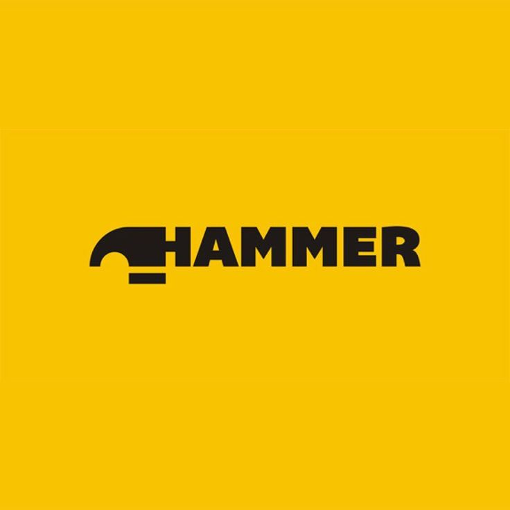 "1,691 Me gusta, 12 comentarios - Logo Inspirations (@logoinspirations) en Instagram: ""Hammer by Shtef Sokolovich - LEARN LOGO DESIGN  @learnlogodesign @learnlogodesign - Want to be…"""