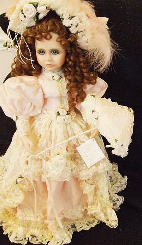 "Patricia Loveless 21"" Savannah Southern Belle French Victorian Procelain Doll | eBay  $359.99"