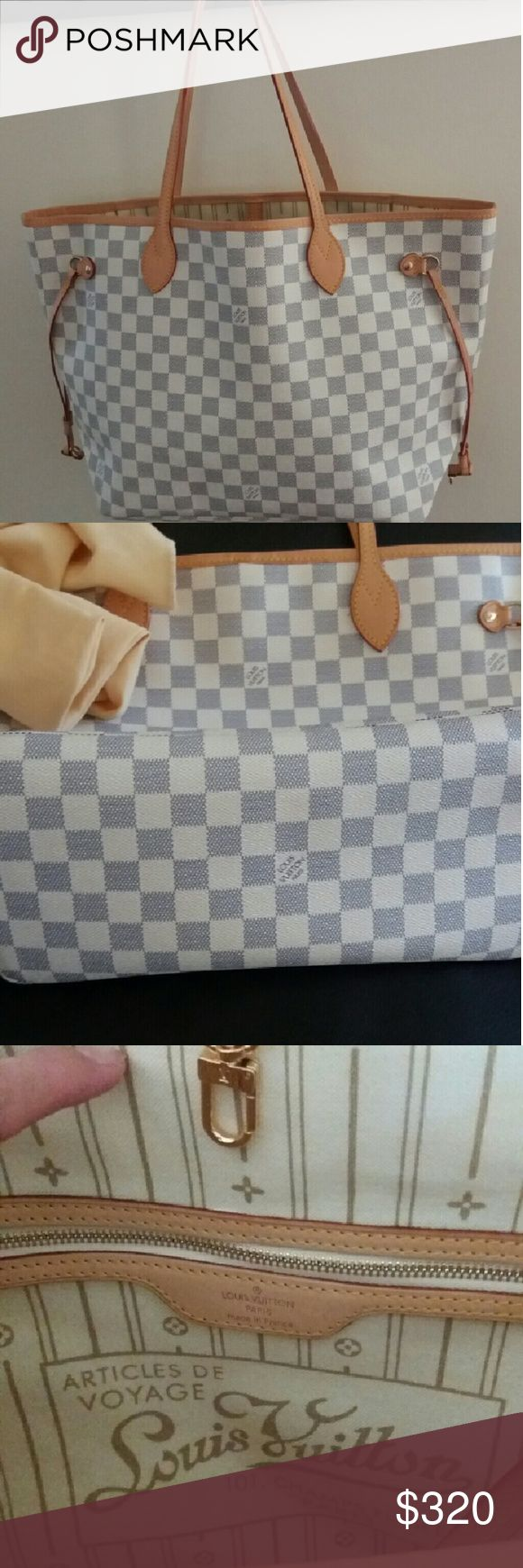 Checkered bag This is not auth its good quality.or money back Louis Vuitton Bags Shoulder Bags