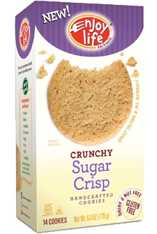 Sugar Crisp Crunchy Cookies - gluten free, soy free, dairy free, nut free, casein free...These are good too!