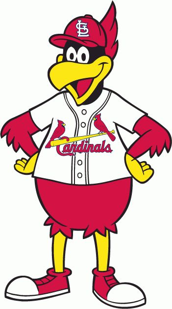 St. Louis Cardinals Alternate Logo (1980) - Graphic illustration of Fredbird mascot