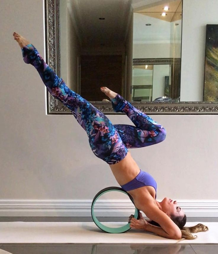 World's first Yoga Wheel designed to help stretch and release tension and muscular tightness in the back, chest, shoulders, abdomen and hip flexors.