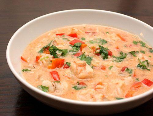 Суп из креветок: самые вкусные, простые и доступные рецепты с фото