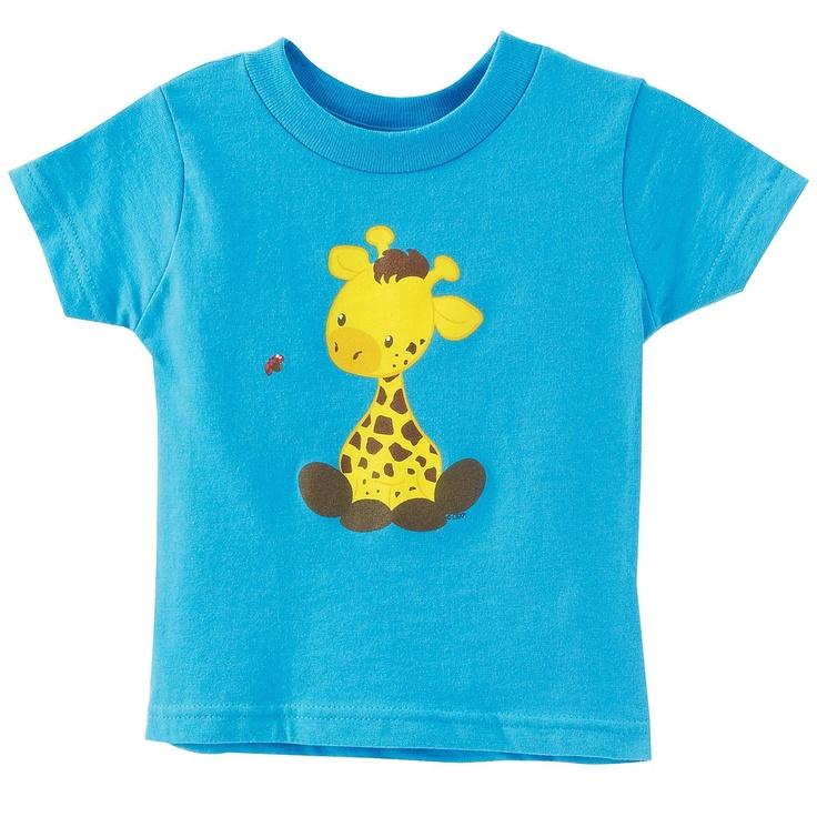 Giraffe T-Shirt 3T - Includes (1) Giraffe T-Shirt
