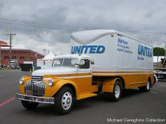 United Van Lines 1945 Chevrolet Master (Michael Cereghino (Avsfan118)) Tags: show chevrolet truck moving united horizon systems line semi master chevy national american historical van society 1945 trucking 2016 aths