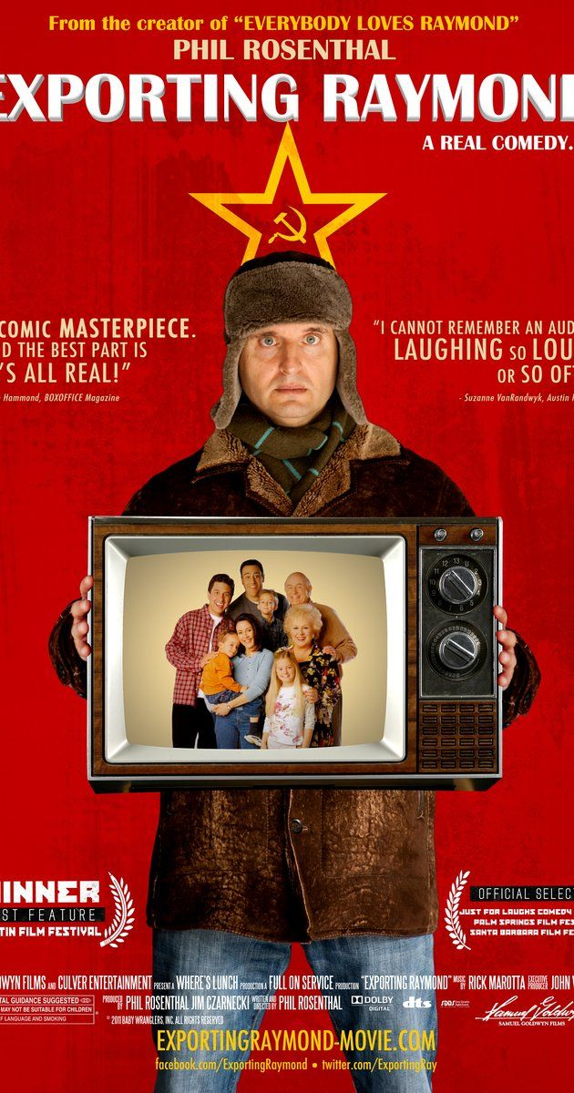 "Directed by Philip Rosenthal.  With Stanislav Duzhnikov, Eldar, Anna Frolovtseva, Boris Klyuev. A documentary on Phil Rosenthal's experiences during the making of ""Voroniny,"" the Russian-language version of ""Everybody Loves Raymond""."