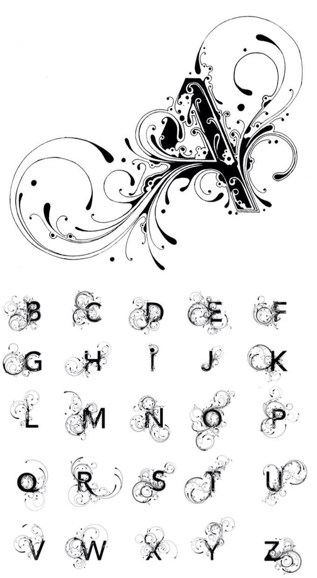 Best ideas about monogram alphabet on pinterest