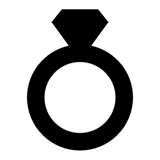 diamond ring vector icon - photo #38