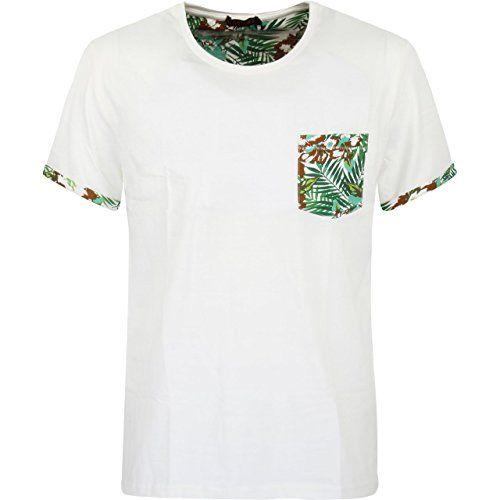 Glo-Story Men's Tropical T-shirt   Glo-Story Men's Tropical T-shirt  #formen #clothing #fashion #fashiontshirt #tropicalprint #shortsleevetshirt #whitetshirt #tropicaltshirt