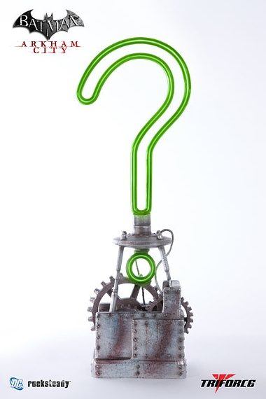 RIDDLER TROPHY FULL SCALE REPLICA  PLACE YOUR PRE-ORDER  DEPOSIT TODAY FOR: $87.50  (TOTAL: $350.00) www.ProjectTriForce.com