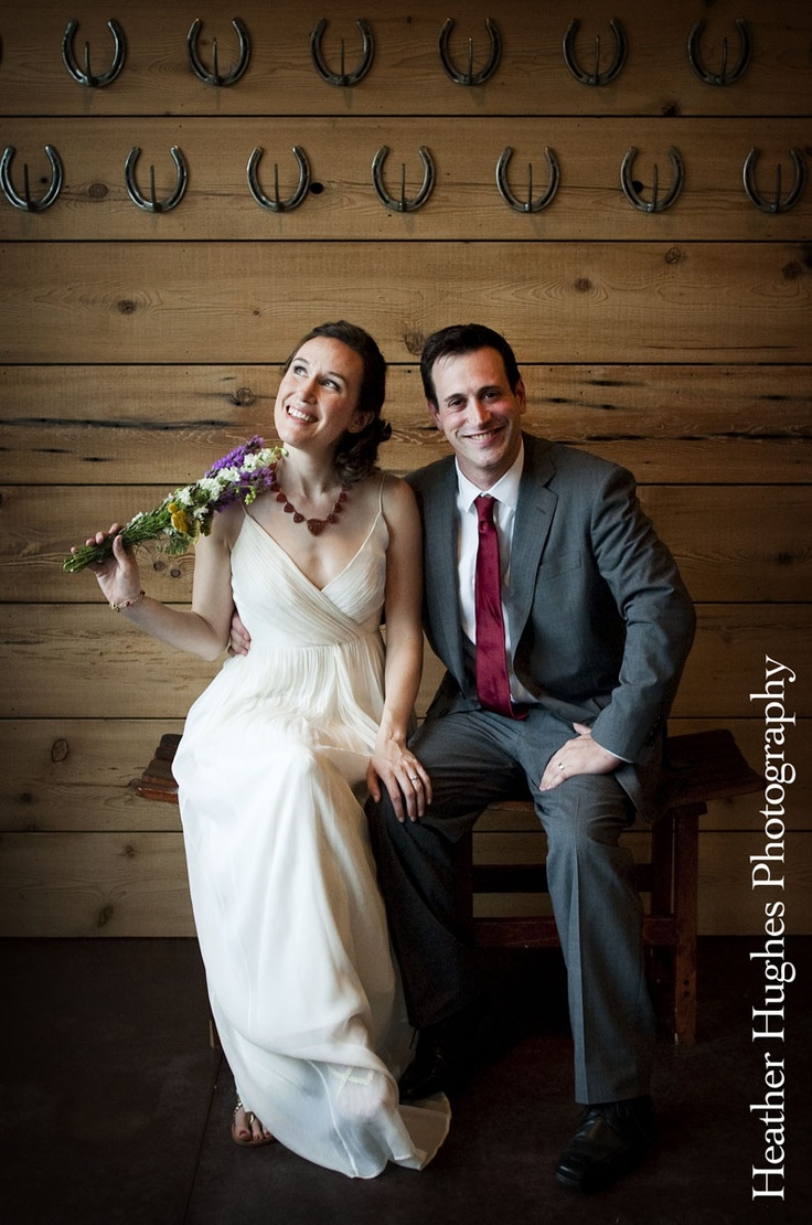 Natural light & pose makes for the perfect wedding portrait at Kings Family Vineyard by Heather Hughes Photography.