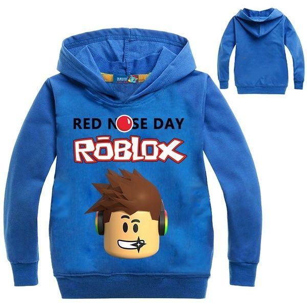 Boys Girls ROBLOX Kids Cartoon Casual Spring Fall Hoodies Sweatshirts Pullover