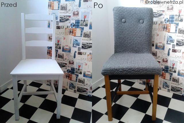 fotel diy, krzesło z fotela, Ikea hacks, Ikea BARSTA hacks, haki Ikea, krzesło tapicerowane, krzesło prl