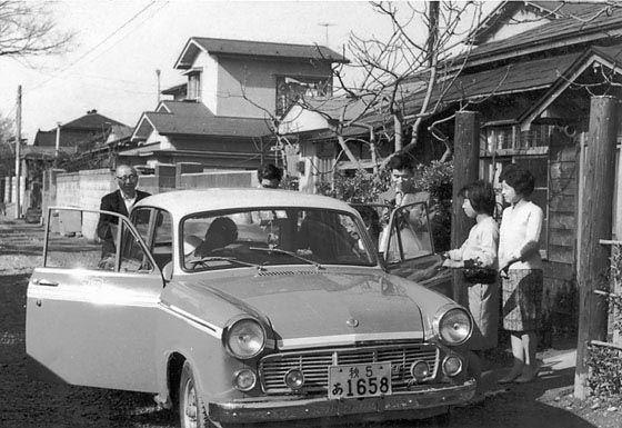 昭和30年代、初代ブルーバード