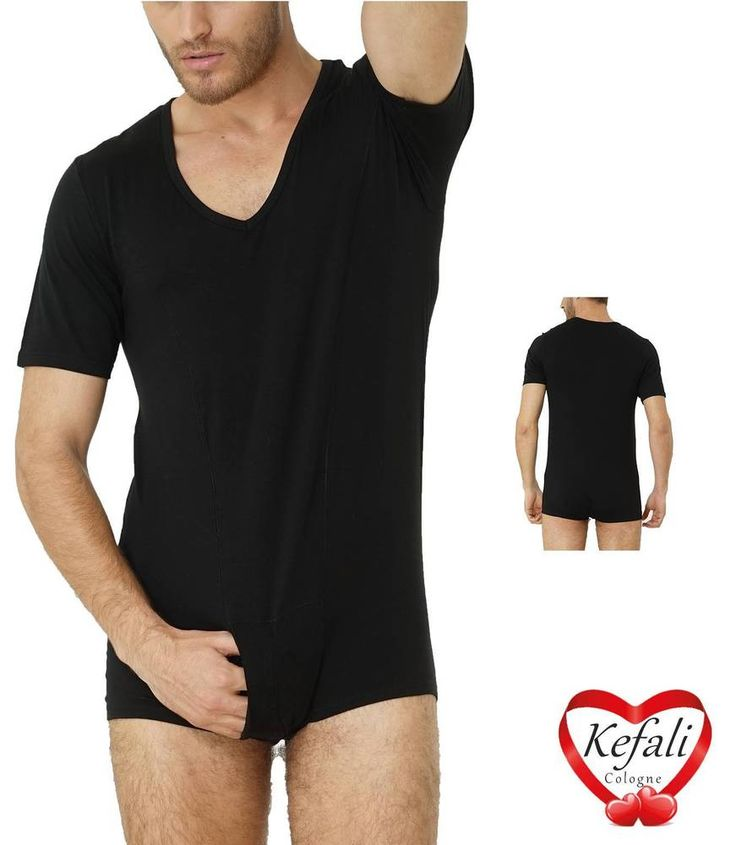 Sporty #Mens #shirtbody with a wide # cutout. #men # underwear #under …