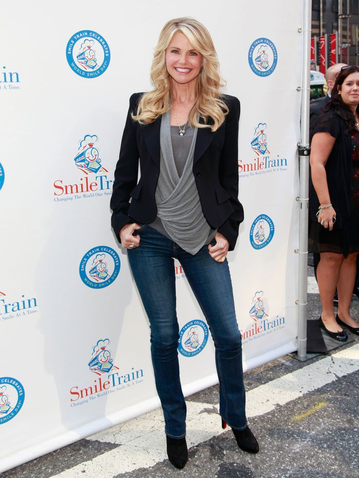 Can you believe she's 59 years old!!!   Christie Brinkley's Style Evolution: From Gorgeous To Even More Gorgeous