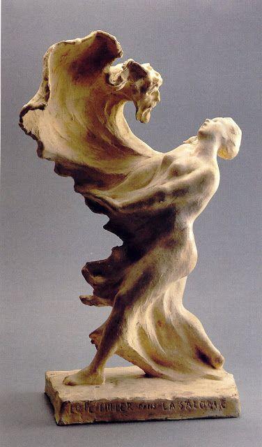 """Pierre Roche (1855-1922), Loïe Fuller dans """"La Salomé"""" - 1901"""