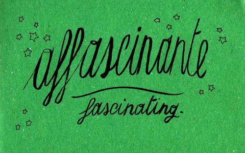 Learning Italian Language ~ Affascinante (fascinating) IFHN