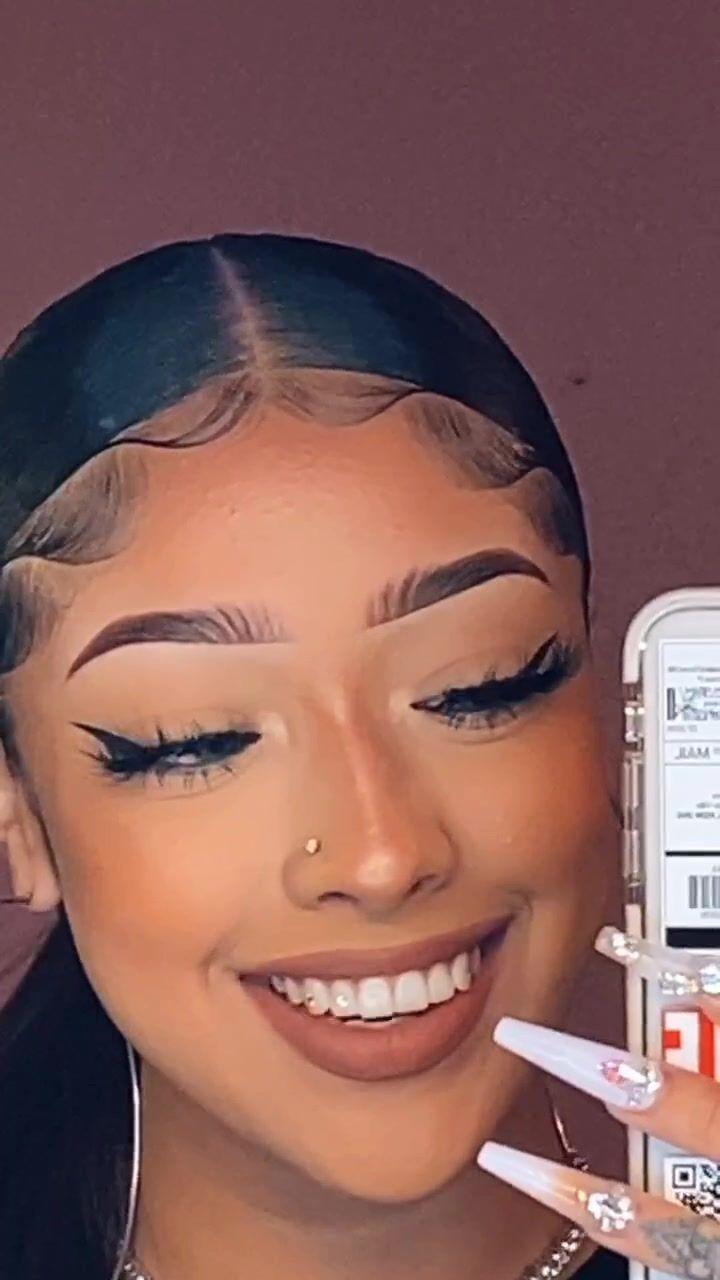 Thatpineapplegirl Thatpineapplegirl On Tiktok What Did In 2021 Hair Videos Hair Styles Curly Hair Styles