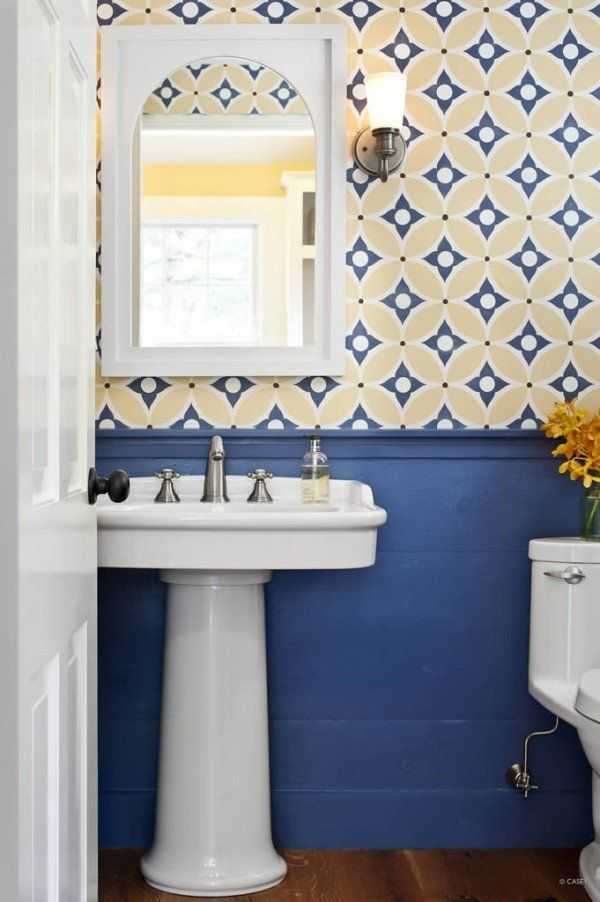 24 Fresh Blue And Yellow Bathroom Decor In 2020 With Images