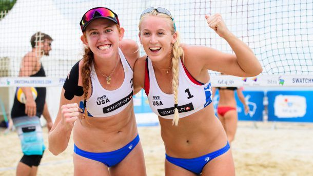 The beach volleyball player who turned down Kerri Walsh Jennings   OlympicTalk