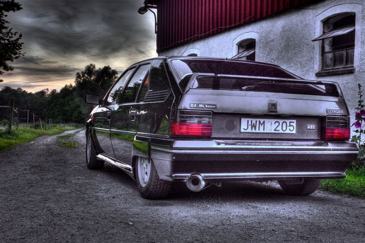 Citroen BX by Froem