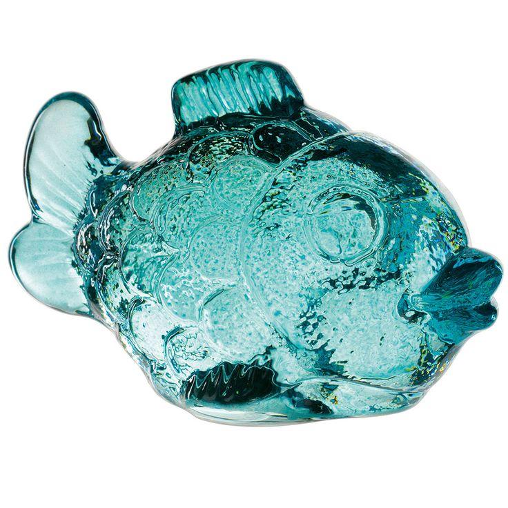 Nachtmann Zoo fisk 100 mm, Aqua, Nachtmann