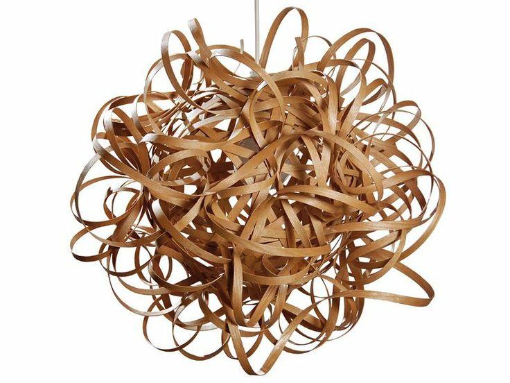 42 best images about l mparas lamps on pinterest - Lampara de techo de madera ...