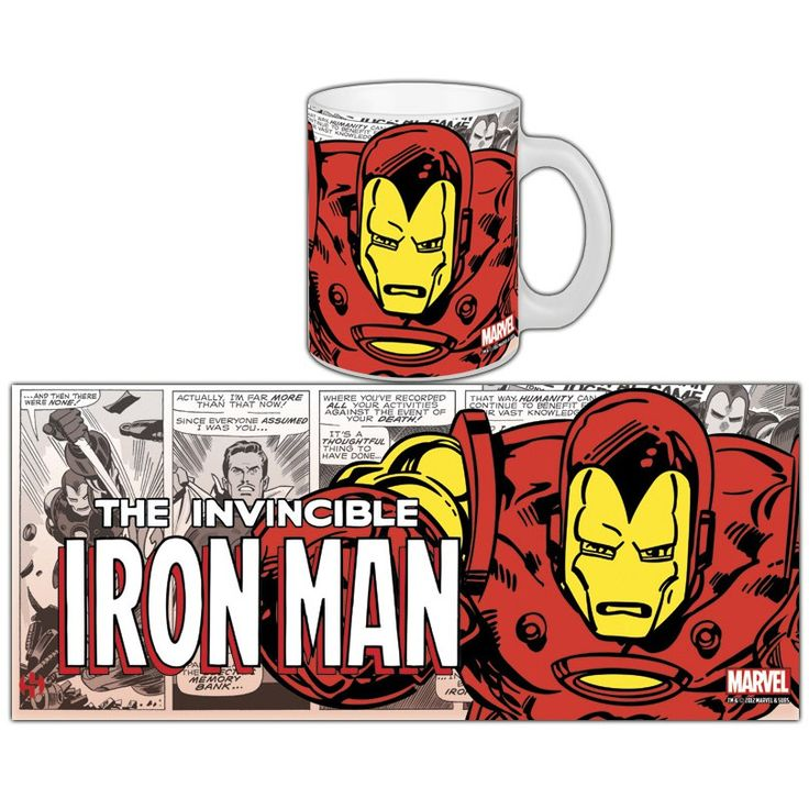 Mug Comics Retro Iron Man