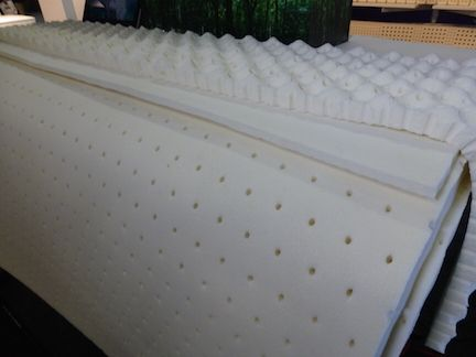 100 Natural Organic Latex Toppers For Mattresses Made By Arpico A Richard