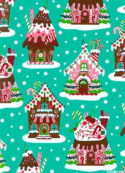 cute Christmas fabric!
