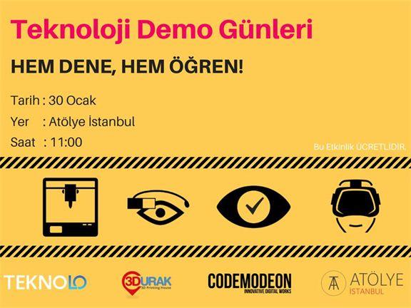 Teknoloji Demo Günleri , biletino, 3Durak
