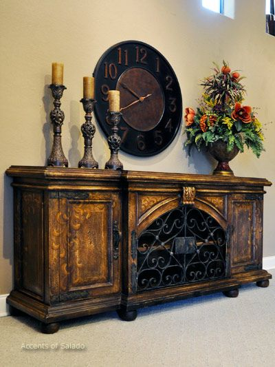 Tuscan Furniture At Accents Of Salado . . We Ship Nationwide.