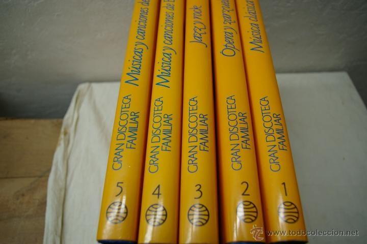 Catálogos de Música: GRAN DISCOTECA FAMILIAR 5 TOMOS-PLANETA AGOSTINI - Foto 2 - 39980185