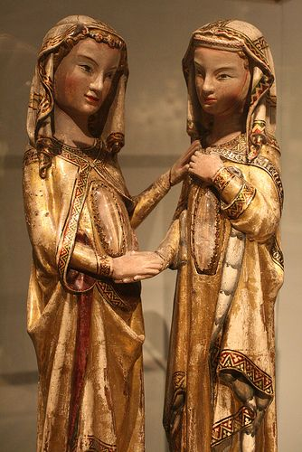 The Visitation Germany,ca 1310-20 By Master Heinrich of Constance