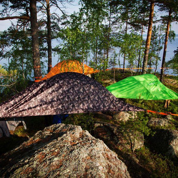 텐트사일은 텐트를 덮어 빛과 바람에서 보호를 해주는 플라이시트가 있습니다. 플라이시트는 다양한 색상으로 구성되어 사용자의 개성을 보여줍니다. 트리텐트 텐트사일입니다.  http://www.tentsile.co.kr  #tentsile #tent #treetent #camping #outdoor #magforcekorea #텐트사일 #텐트 #트리텐트 #캠핑 #아웃도어 #맥포스코리아