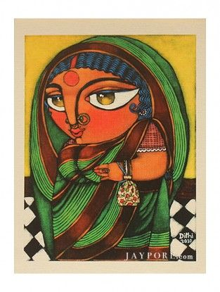 Batua Printed Artwork on Textured Paper
