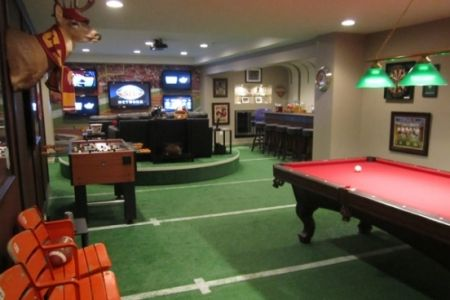 Football Field Carpet Basement Pinterest Caves