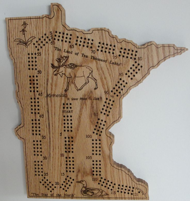 how to build a cribbage board