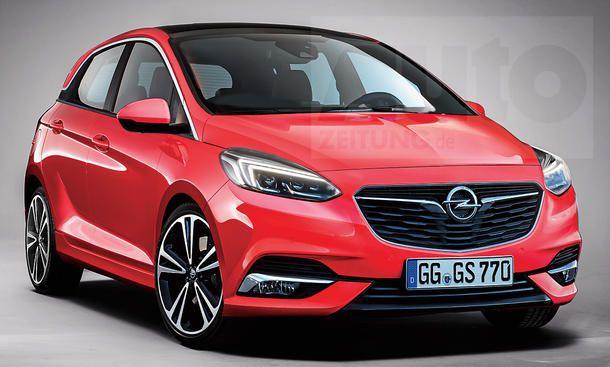 Opel Corsa F 2018 Erste Informationen Opel Grandland X