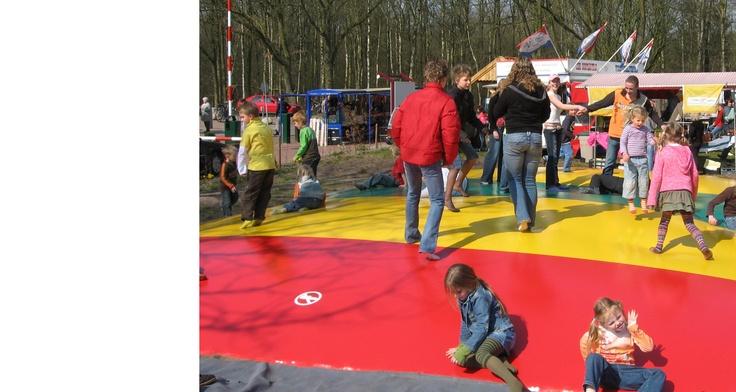 Airtrampoline Camping Wedderbergen