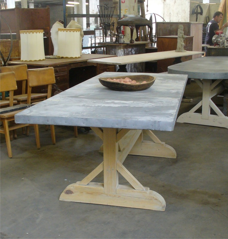 My Notting Hill: Zinc-Topped Tables & More: Warehouse