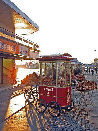 Simitçi Bread in Karakoy, Istanbul | Turkey