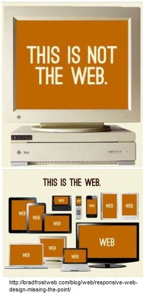 This is not the web...this is the web