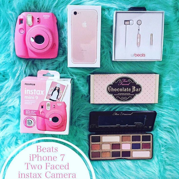 Worldwide Gift  Hi Friends! I've teamed up with some amazing accounts to give one of our lucky followers a brand new  iPhone 7 matching Beats Headphones Instax Camera and Too Faced makeup pallet!  To Participate   1 FOLLOW ME  2 LIKE this picture  3 FOLLOW @dreamykidz.com.au  4 REPEAT steps 1-4 on every account until you come back to me & COMMENT to let us know you've entered!  5If you want a DOUBLE chance at winning TAG some real friends only who would like this giveaway on the comments…